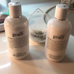 New Philosophy Pure Grace Duo-8oz